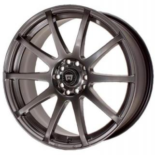 MR274 SP10 HYPER BLACK RIM from MOTEGI RACING WHEELS