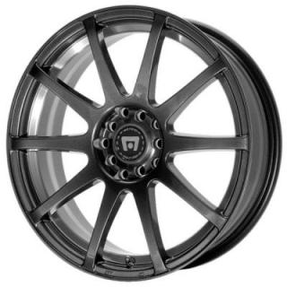 MR274 SP10 MATTE BLACK RIM from MOTEGI RACING WHEELS