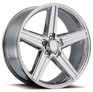 REV WHEELS  CLASSIC 652 IROC CHROME RIM