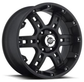 REV WHEELS  OFFROAD 855 MATTE BLACK RIM
