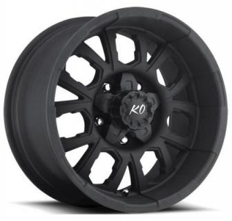 REV WHEELS  OFFROAD 870 MATTE BLACK RIM