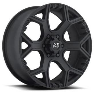 REV WHEELS  OFFROAD 880 MATTE BLACK RIM