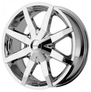 KM651 SLIDE CHROME RIM from KMC WHEELS