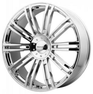 KM677 D2 CHROME RIM from KMC WHEELS