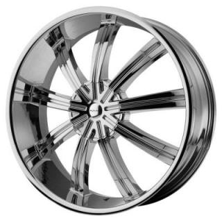 KM672 WIDOW CHROME RIM from KMC WHEELS
