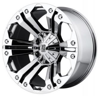 XD SERIES WHEELS  XD778 MONSTER CHROME RIM