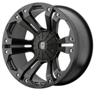 XD SERIES WHEELS  XD778 MONSTER MATTE BLACK RIM
