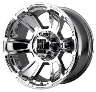 XD SERIES WHEELS  XD796 REVOLVER CHROME RIM