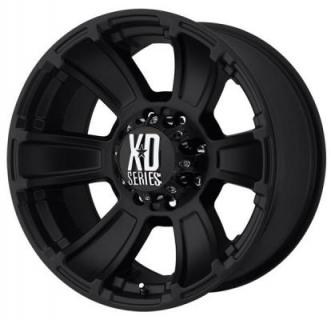 XD SERIES WHEELS  XD796 REVOLVER MATTE BLACK RIM