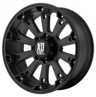 XD SERIES WHEELS  XD800 MISFIT MATTE BLACK RIM