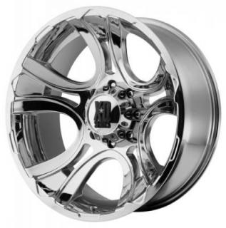 XD SERIES WHEELS  XD801 CRANK CHROME RIM