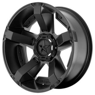 XD811 ROCKSTAR II MATTE BLACK RIM from XD SERIES WHEELS