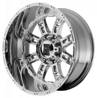XD809 RIOT CHROME RIM from XD SERIES WHEELS