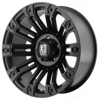 XD SERIES WHEELS  XD810 BRIGADE SATIN BLACK RIM