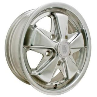 EMPI VINTAGE VW  911 ALLOY POLISHED WHEEL