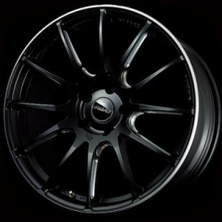 VOLK RACING WHEELS - G12 - Matte Black - Double Machining - Rim edge DC by VOLK RACING