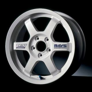 VOLK RACING WHEELS - TE37 - Gravel-White by VOLK RACING