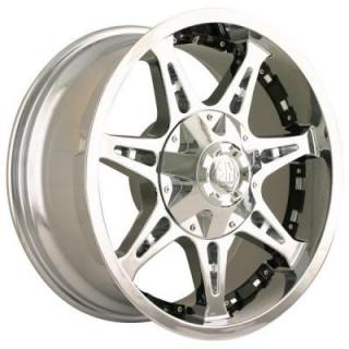 MAYHEM WHEELS  MISSILE CHROME RIM