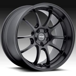 MRR DESIGN WHEELS  GF8 MATTE BLACK