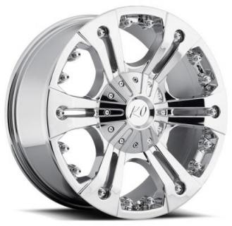 REV WHEELS  OFFROAD 835 AMERICANA CHROME RIM