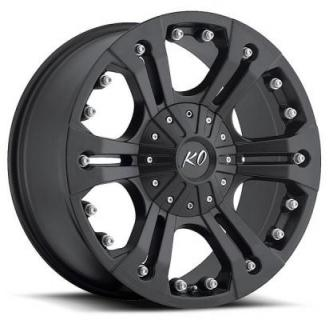 REV WHEELS  OFFROAD 835 AMERICANA MATTE BLACK RIM