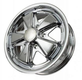 EMPI VINTAGE VW  VINTAGE VW 911 ALLOY CHROME WHEEL