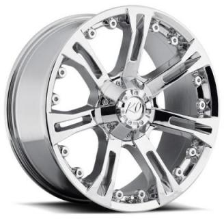 REV WHEELS  OFFROAD 840 ANACONDA CHROME RIM