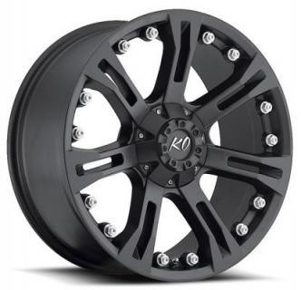 REV WHEELS  OFFROAD 840 ANACONDA MATTE BLACK RIM