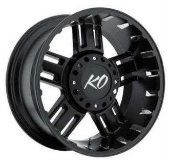 REV WHEELS  OFFROAD 811 BEAST MATTE BLACK RIM