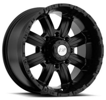 REV WHEELS  OFFROAD 808 DIRTY HARRY BLACK
