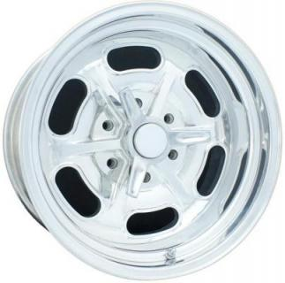 87 SERIES BILLET LAKESTER 6 LUG POLISHED RIM by CIRCLE RACING WHEELS