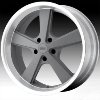 SPECIAL BUY WHEELS  AMERICAN RACING - VN701 NOVA MAG GRAY MACHINED RIM PPT