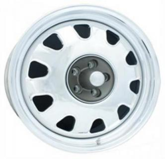 107 SERIES BILLET CHRYSLER RALLYE II POLISHED RIM by CIRCLE RACING WHEELS