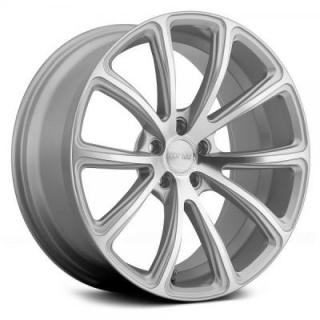 MRR DESIGN WHEELS  HR10 SILVER MACHINED