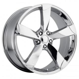 FACTORY REPRODUCTIONS WHEELS  AUDI A5 STYLE 85 CHROME RIM
