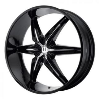 SPECIAL BUY WHEELS  HELO HE866 GLOSS BLACK RIM