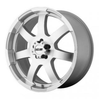 SPECIAL BUY WHEELS  ICE METAL IW899 SILVER PPT