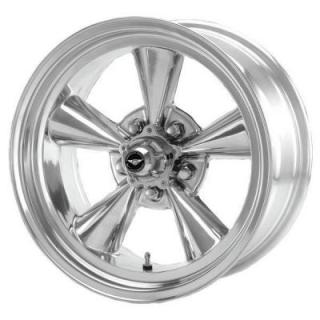 SPECIAL BUY WHEELS  AMERICAN RACING VN109 TORQ THRUST ORIGINAL POLISHED PPT