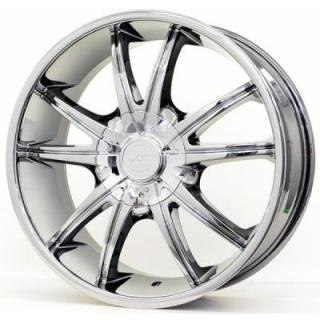 SPECIAL BUY WHEELS  AMERICAN RACING AR897 BRIGHT PVD RIM PPT