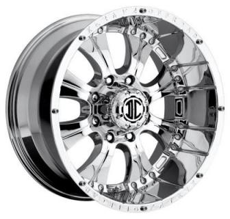 2 CRAVE OFFROAD WHEELS  XTREME NX1 CHROME RIM