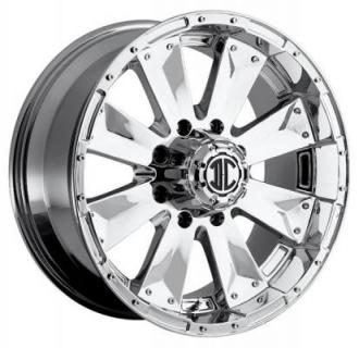 2 CRAVE OFFROAD WHEELS  XTREME NX4 CHROME RIM