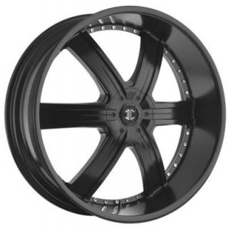 2 CRAVE WHEELS  2 CRAVE N04 SATIN BLACK RIM