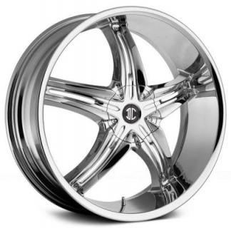 2 CRAVE WHEELS  2 CRAVE N15 CHROME RIM