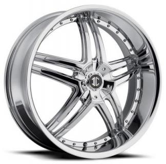 2 CRAVE WHEELS  2 CRAVE N17 CHROME RIM