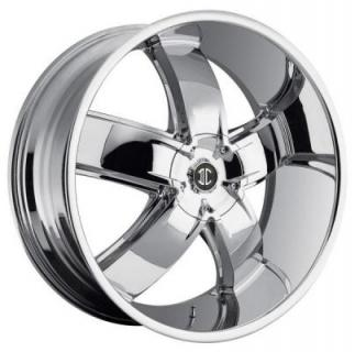 2 CRAVE WHEELS  2 CRAVE N18 CHROME RIM