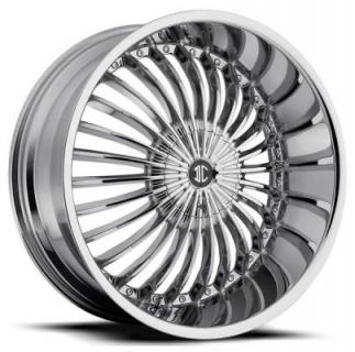 2 CRAVE WHEELS  2 CRAVE N19 CHROME RIM