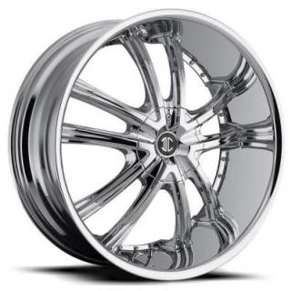 2 CRAVE WHEELS  2 CRAVE N21 CHROME RIM