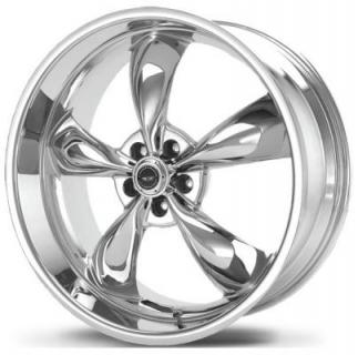 AR605 TORQ THRUST M CHROME RIM from AMERICAN RACING WHEELS