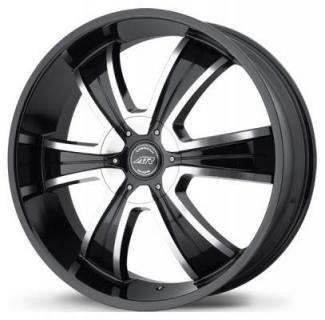 AR894 GLOSS BLACK RIM with MACHINED FACE from AMERICAN RACING WHEELS