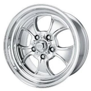 VNC450 HOPSTER (CUSTOM SHOP) CHROME WHEEL with POLISHED RIM from AMERICAN RACING WHEELS